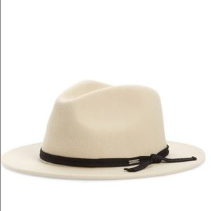 NWT Brixton Messer Felt Fedora Hat